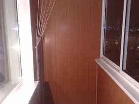 Утепление балкона с отделкой