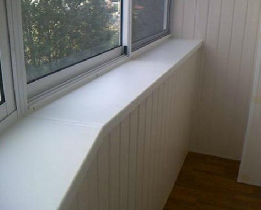 Фотографии балконов - балкон с выносом из нутри.