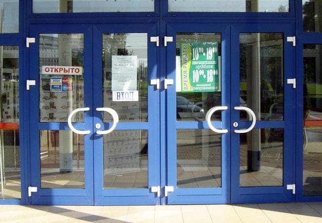 Пластиковые входные двери от Алпластрой