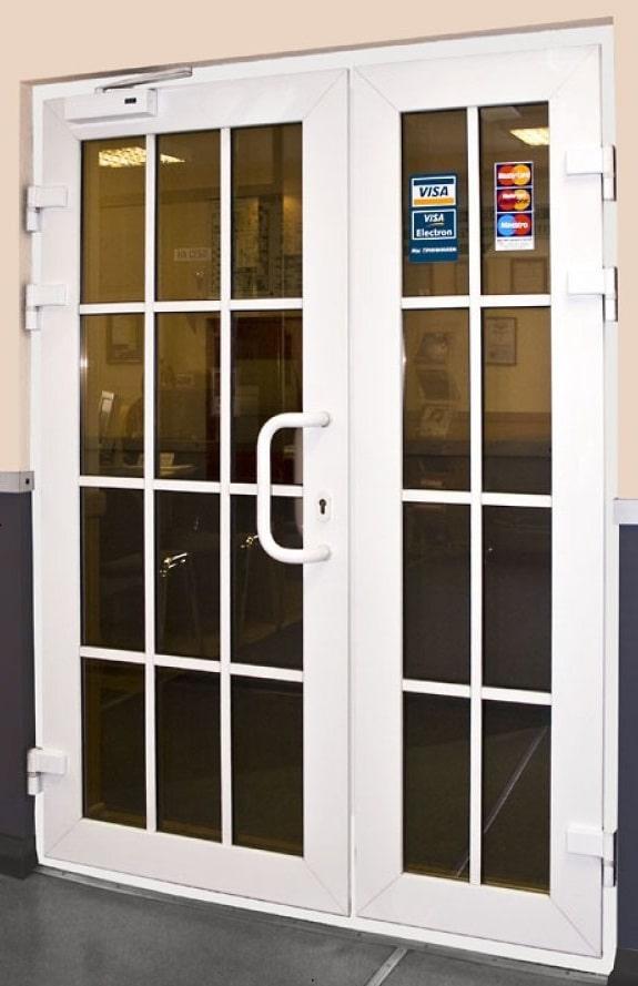 Заказать недорого дверь ПВХ
